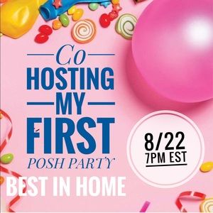 🎉BEST IN HOME🎉 PARTY